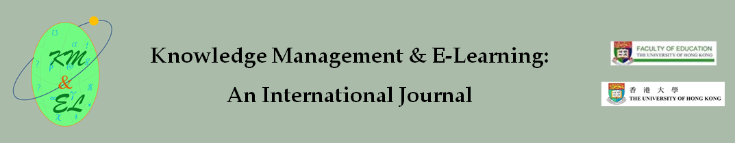 Knowledge Management & E-Learning: An International Journal